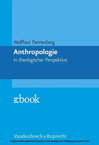 Anthropologie - Blick ins Buch