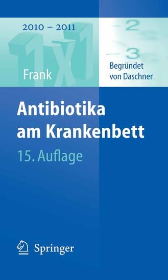 Antibiotika am Krankenbett - Blick ins Buch