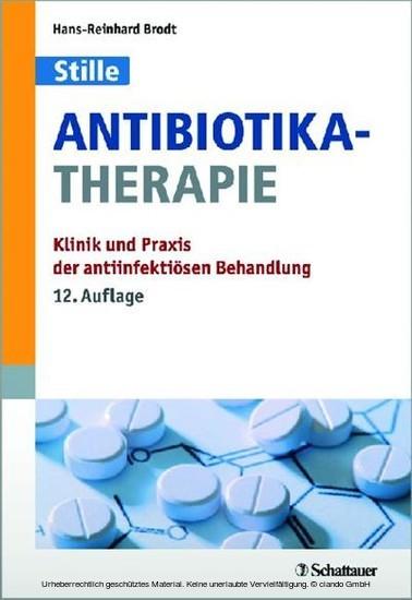 Antibiotika-Therapie - Blick ins Buch