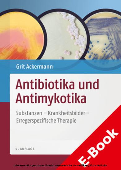 Antibiotika und Antimykotika - Blick ins Buch