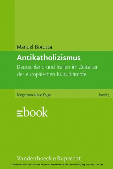 Antikatholizismus - Blick ins Buch