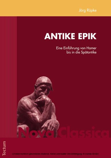 Antike Epik - Blick ins Buch