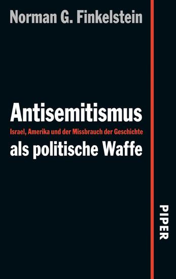 Antisemitismus als politische Waffe - Blick ins Buch