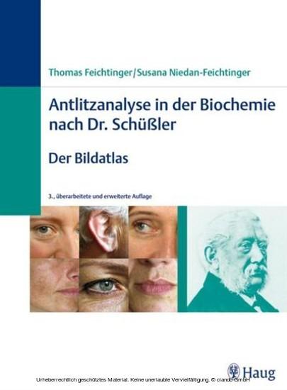 Antlitzanalyse in der Biochemie nach Dr. Schüßler - Blick ins Buch