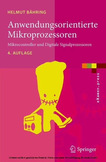 Anwendungsorientierte Mikroprozessoren - Blick ins Buch