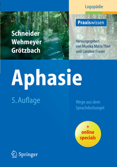 Aphasie - Blick ins Buch