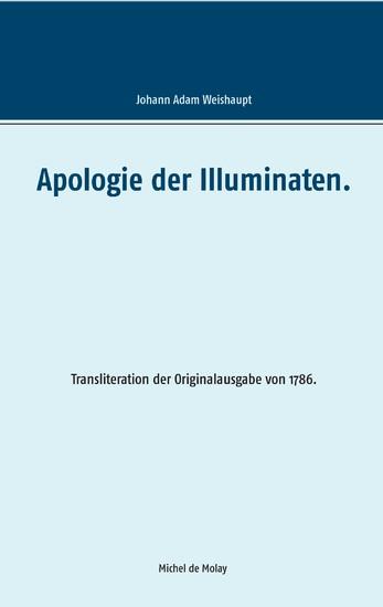 Apologie der Illuminaten. - Blick ins Buch