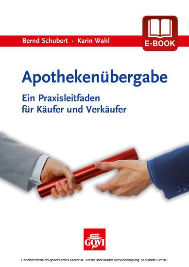 Apothekenübergabe - Blick ins Buch