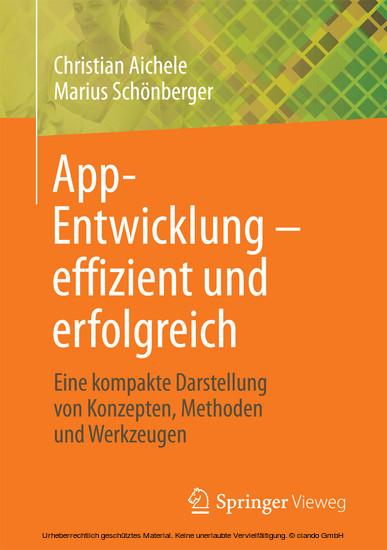 App-Entwicklung - effizient und erfolgreich - Blick ins Buch