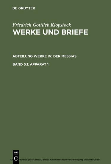 Apparat 1 - Blick ins Buch