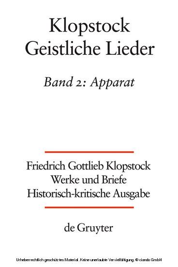 Apparat/Kommentar - Blick ins Buch