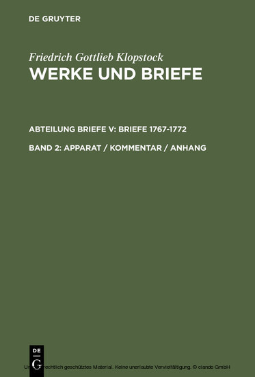 Apparat / Kommentar / Anhang - Blick ins Buch