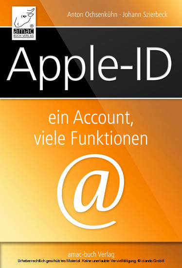 Apple-ID - Blick ins Buch