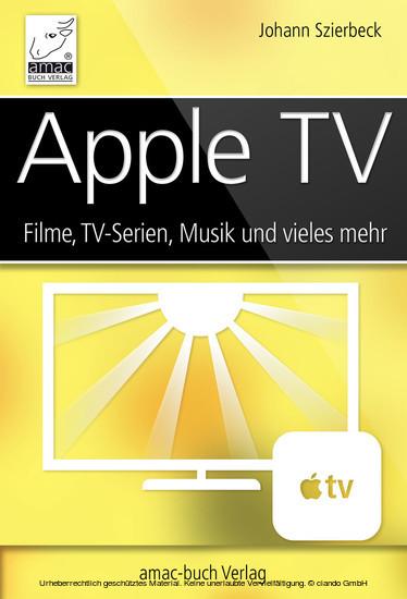 Apple TV - Blick ins Buch