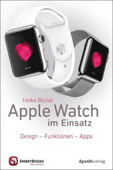 Apple Watch im Einsatz - Blick ins Buch