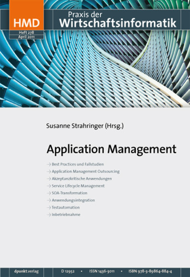 Application Management - Blick ins Buch