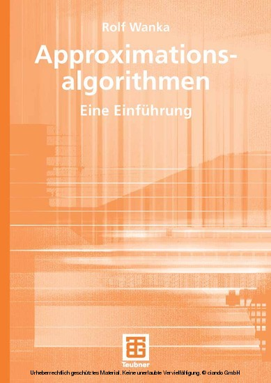 Approximationsalgorithmen - Blick ins Buch