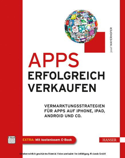 Apps erfolgreich verkaufen - Blick ins Buch