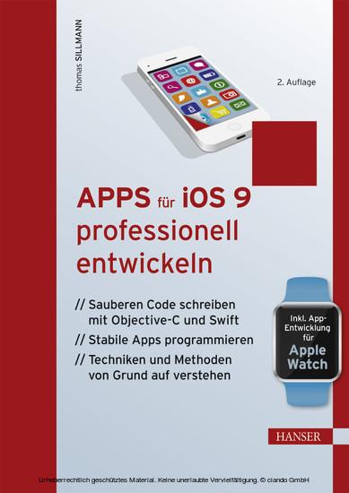 Apps für iOS 9 professionell entwickeln - Blick ins Buch