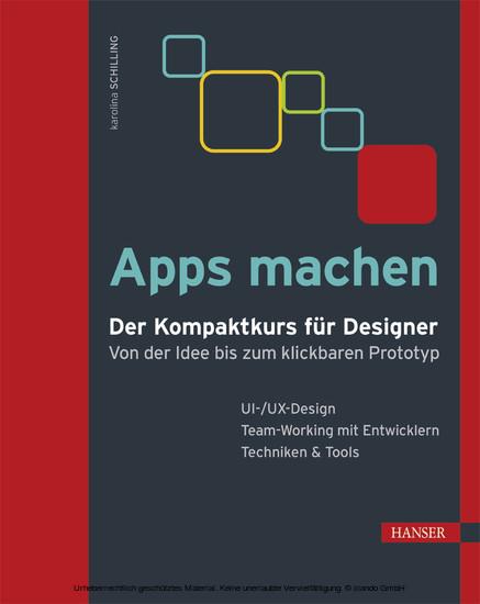 Apps machen - Blick ins Buch
