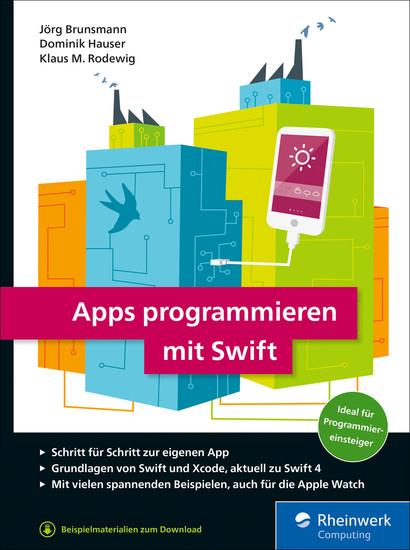 Apps programmieren mit Swift - Blick ins Buch
