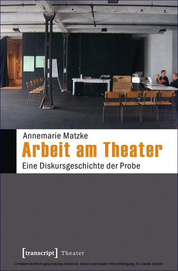 Arbeit am Theater - Blick ins Buch