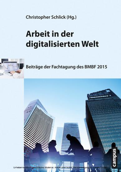 Arbeit in der digitalisierten Welt - Blick ins Buch