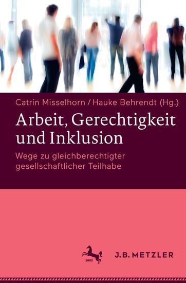 Arbeit, Gerechtigkeit und Inklusion - Blick ins Buch