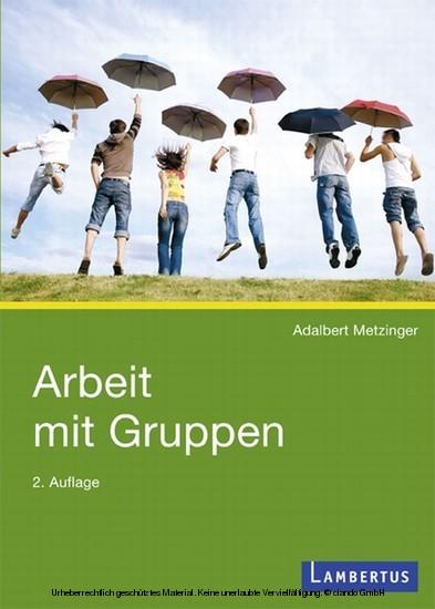 Arbeit mit Gruppen - Blick ins Buch