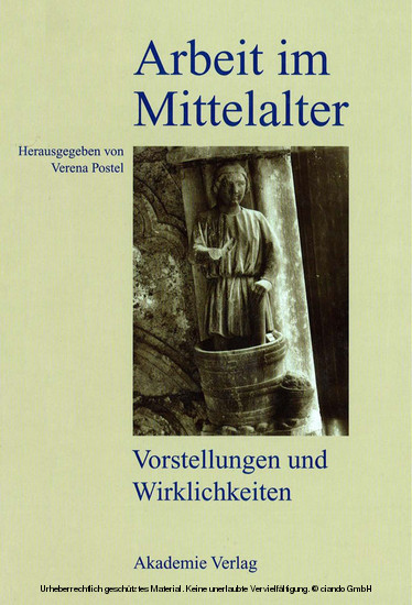 Arbeit im Mittelalter - Blick ins Buch
