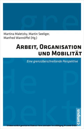 Arbeit, Organisation und Mobilität - Blick ins Buch