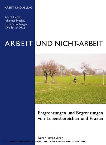Arbeit und Nicht-Arbeit - Blick ins Buch