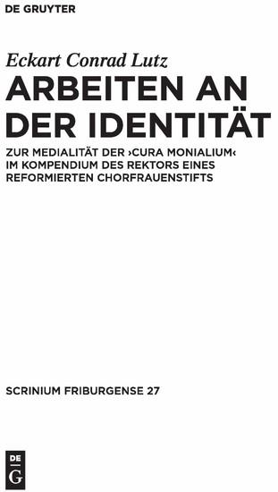 Arbeiten an der Identität - Blick ins Buch