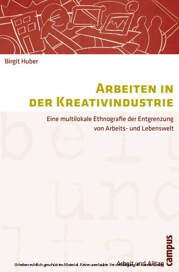 Arbeiten in der Kreativindustrie - Blick ins Buch