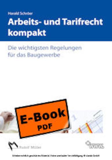 Arbeits- und Tarifrecht kompakt - Blick ins Buch