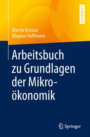 Arbeitsbuch zu Grundlagen der Mikroökonomik - Blick ins Buch