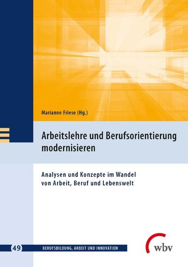 Arbeitslehre und Berufsorientierung modernisieren - Blick ins Buch
