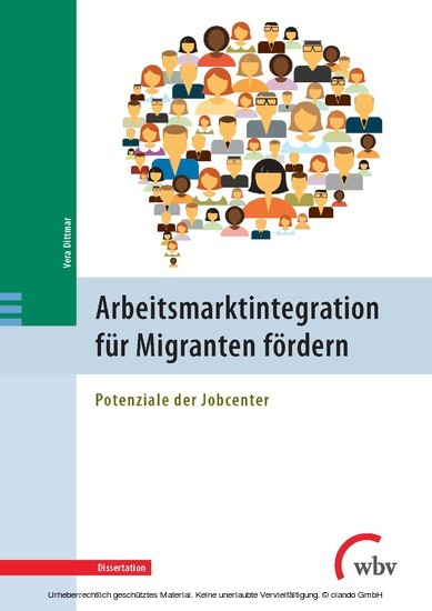Arbeitsmarktintegration für Migranten fördern - Blick ins Buch