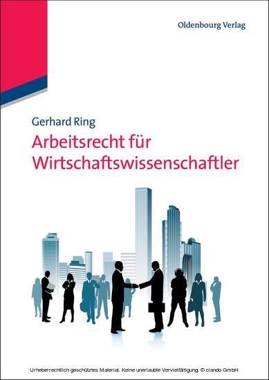 Arbeitsrecht für Wirtschaftswissenschaftler - Blick ins Buch