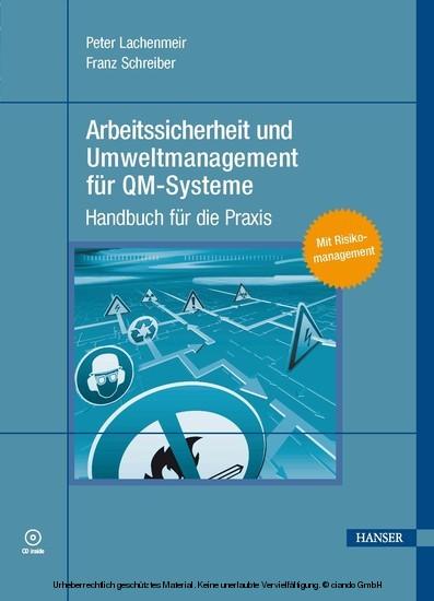Arbeitssicherheit und Umweltmanagement für QM-Systeme - Blick ins Buch