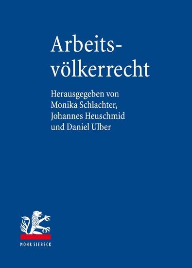 Arbeitsvölkerrecht - Blick ins Buch