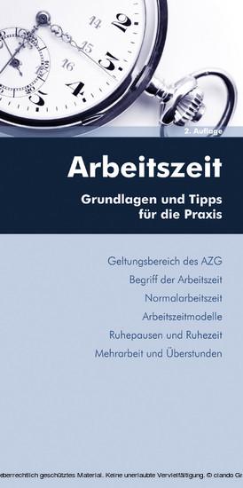 Arbeitszeit (Ausgabe Österreich) - Blick ins Buch