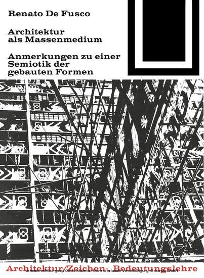 Architektur als Massenmedium - Blick ins Buch