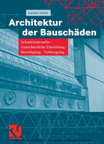 Architektur der Bauschäden - Blick ins Buch