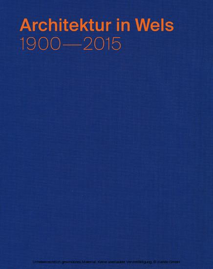 Architektur in Wels - Blick ins Buch
