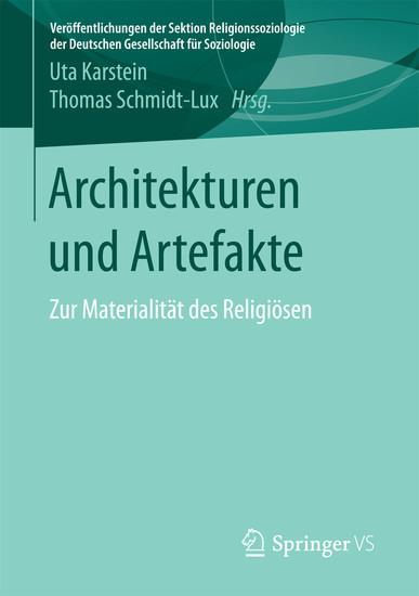 Architekturen und Artefakte - Blick ins Buch