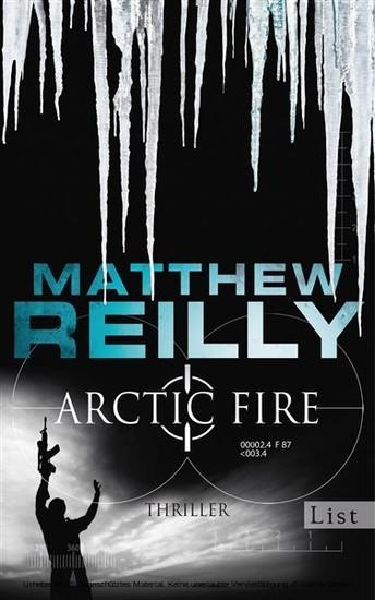 Arctic Fire - Blick ins Buch