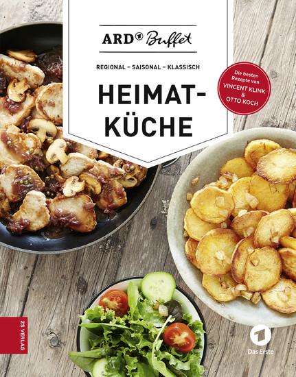 ARD-Buffet. Heimatküche - Blick ins Buch
