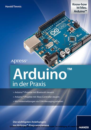 Arduino in der Praxis - Blick ins Buch