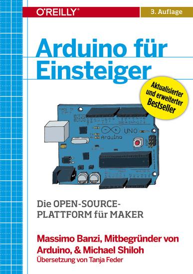 Arduino für Einsteiger - Blick ins Buch